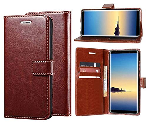 Erotic Flip Wallet Case Cover for Gionee A1 - Cherry Brown