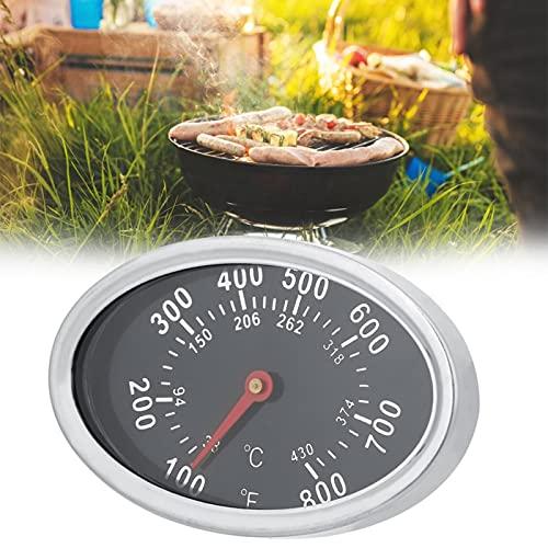 Herramienta de termómetro Termómetro de barbacoa duradero de acero inoxidable Resistente al desgaste para cocinar alimentos para el patio del hogar Cocina al aire libre