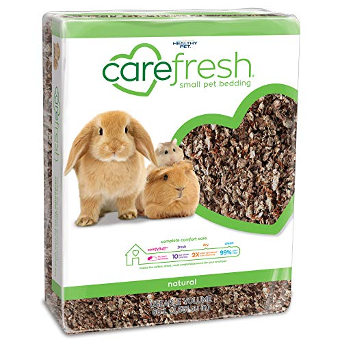 carefresh 99% Dust-Free Natural Paper Small Pet Bedding with Odor Control, 60 L