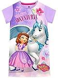 Disney Camisón para niñas La Princesa Sofía Sofia The First Morado 6-7 Años