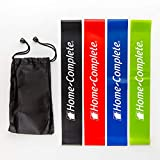 Home-Complete Elastic 4 Resistance Level Exercise Loop Bands for Full...