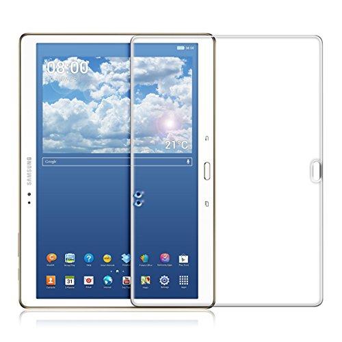 kwmobile Glas Bildschirmschutzfolie kompatibel mit Samsung Galaxy Tab S 10.5 T800 / T805 - Tablet Schutzglas Folie Schutzfolie Bildschirmschutz Glasfolie in kristallklar