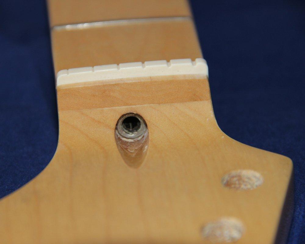 22 trastes canadiense arce Cuello Diapasón para ST Strat guitarra ...