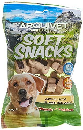 Arquivet Soft Snacks para Perro Maxi Huesitos de Cordero 100 g
