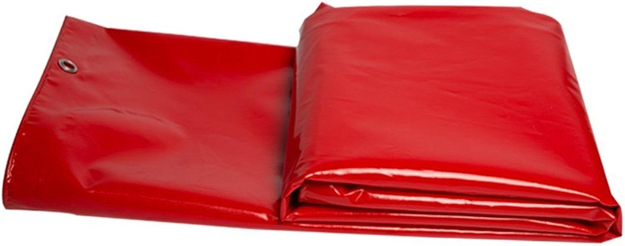 JEAQW Home Camion de bache imperméable Rouge abritant Un Parasol extérieur en Tissu et Une bache Anti-poussière Haute température et Anti-age (Couleur   A, Taille   4x5M)
