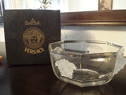 Versace Rosenthal - Medusa Lumiere Schale, Obstschale, Salatschale, Dessertschale - Glas - Ø: 18 cm