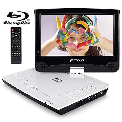 Pumpkin Reproductor Blu-ray DVD Portátil - 10.1