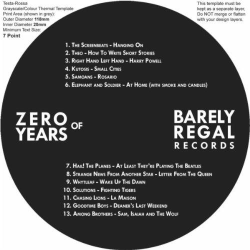 Zero Years of Barely Regal