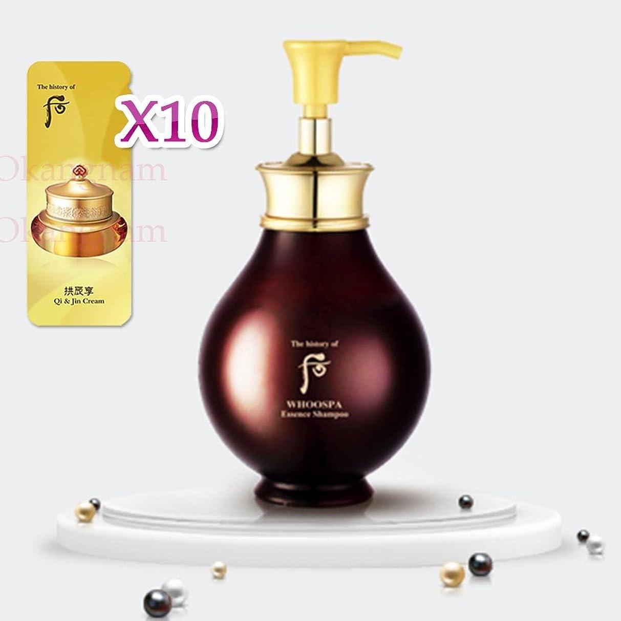 検索話す横に【フー/ The history of whoo] Whoo后SPA04 Whoo Spa Essence Shampoo/后(フー)フス派エッセンスシャンプー + [Sample Gift](海外直送品)