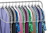 Clear Vinyl Shoulder Covers Closet Suit Protects Storage Home Decor Set of 12, 12'H x 22'W x 2'D
