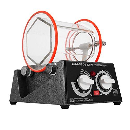 BananaB Poliermaschinen 3Kg Capacity Jewelry polishing machine 220V Jewelry Tumbler Polierer 150 * 150mm Jewelry Polisher Finisher
