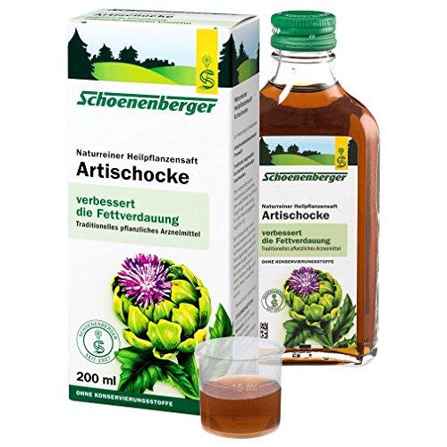 Schoenenberger Bio Artischocken Saft 200ml