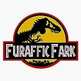 JB Print Furaffic Fark Vinyl Decal Sticker Car Waterproof Car Decal Bumper Sticker 5'