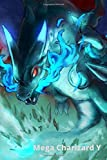 Mega Charizard Y, Pokemon: Mega Charizard Y, Pokemon, Anime, Notebook (110 Pages, Blank, 6 x 9)