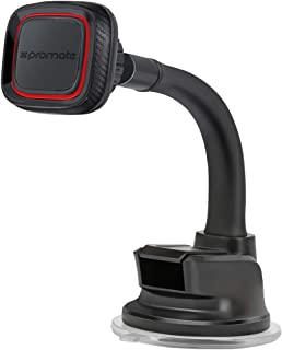 Promate Car Mount, Heavy- Duty Phone Holder With Anti- Slip Magnetic Grip Holder, 360 Degree Rotatable And Flexible Goosen...