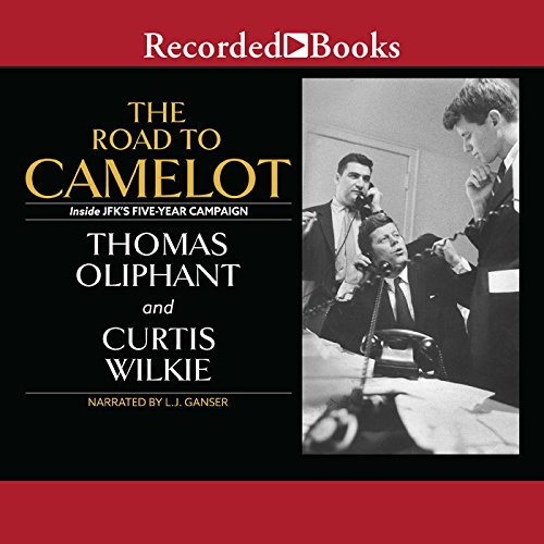 The Road to Camelot audiobook cover art