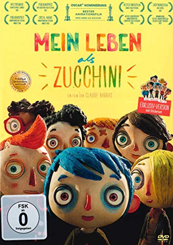 Mein Leben als Zucchini (Ma vie de Courgette) Special Edition & Stickerset [Alemania] [DVD]