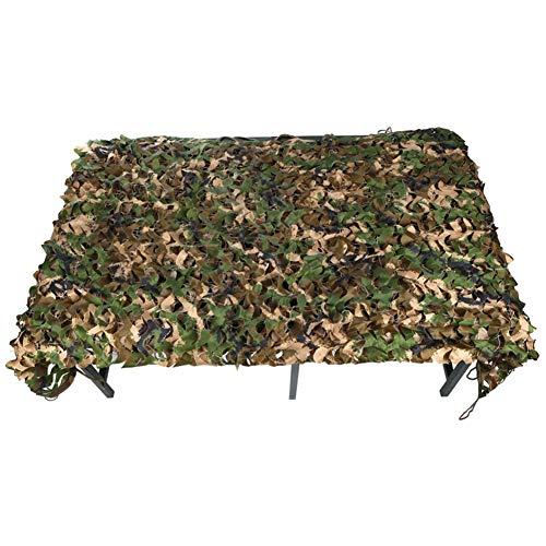 QIANMEI Tarnnetz Camouflage Netz, Urwald Tarnnetz Draussen Camping Party Dekoration Sonnenschutz-Tarnnetz 44 Größen (Color : A, Size : 3×7m)