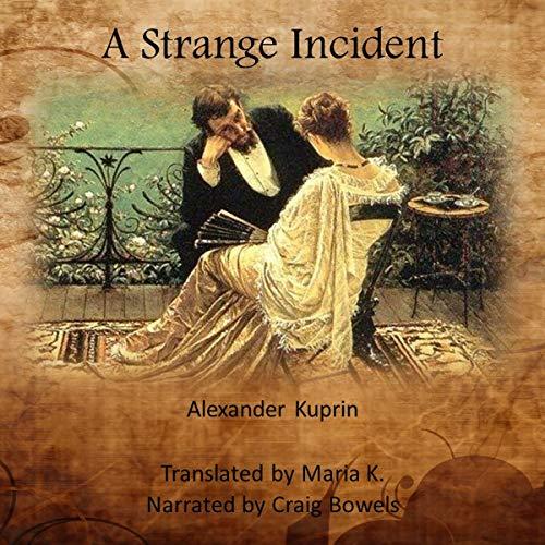 A Strange Incident audiobook cover art