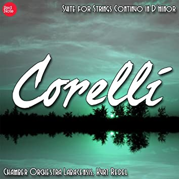 Corelli: Suite for Strings Continuo in D minor