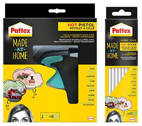 Pattex Hot Pistol Starter Set-Hobby und Hot Sticks Hobby 200 g