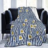 ujmki Manta de forro polar, cálida y súper suave, regalo de cuidado para niños y adultos, 152 cm x 127 cm, diseño de bandera de Uruguay