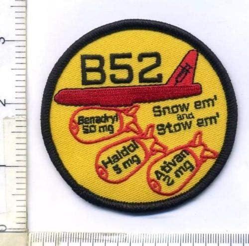 B52 Benadryl 50mg Haldol 5MG Ativan 2MG EMS Vintage Morale Apparel Applique Patch iron on patch product image