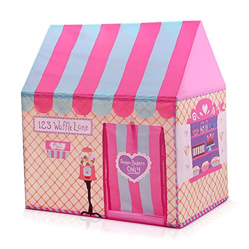 HGA Wigwam Tent For Kids Childrens Teepee Girls Indoor Outdoor Play Tents Kids Playhouse Palace Tents,Pink