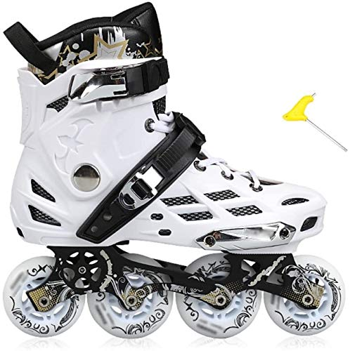 Sale!! Xiaochongshan Track Shoes Inline Skates Roller Skates Adult Skates Adult Men and Women Flat S...