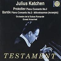 Prokofiev & Bartok: Piano Concertos by Julius Katchen (2003-10-13)