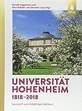 Universität Hohenheim 1818–2018: Festschrift zum 200jährigen Jubiläum - Harald Hagemann