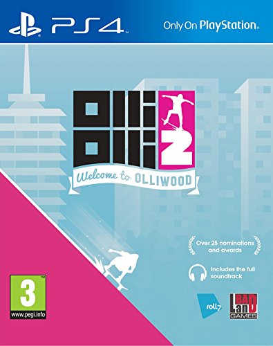 OlliOlli 2, Welcome to Olliwood PS4