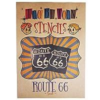 ステンシルシート ルート66 (route66) (Small)