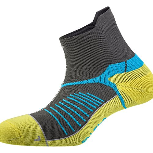 Salewa Ultra Trainer Sk Socken, Dark Grey/Honey, 44-46