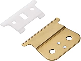 Pro T outliner Ceramic Blade Hair Clipper/Trimmer Replacement Blades #04521-Compatible with Andis T Outliner Clipper (Gold)