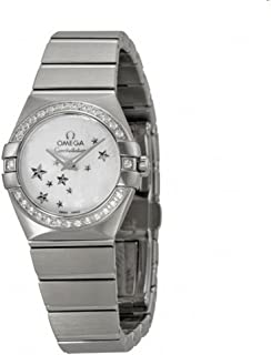 Constellation Star Mother of Pearl Dial Stainless Steel Ladies Watch 12315246005003