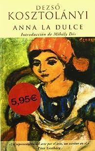 ANNA LA DULCE par