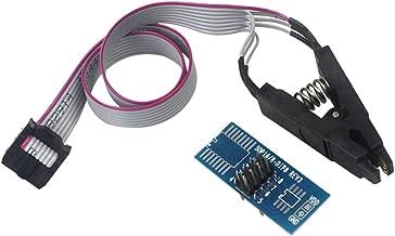 Ximimark 1 Set SOIC8 SOP8 Flash Chip IC Test Clips Socket Adpter BIOS/24/25/93/95 Programmer