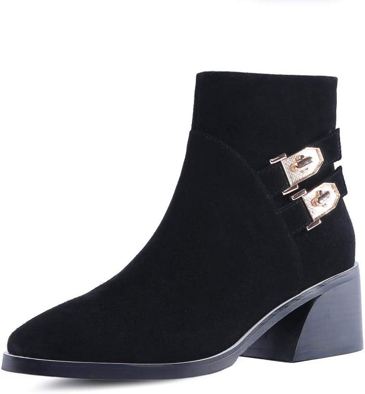 Women Ladies Faux Leather Suede Chelsea Ankle Boots Black Pull On Elasticated Tab Low Block Flat Heel & Rounded Toe School Work,Black,48EU