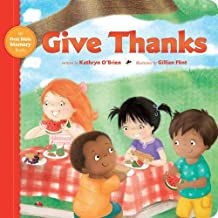 Give Thanks (My First Bible Memory Books)