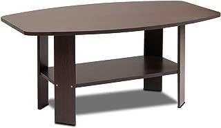 Furinno Simple Design Coffee Table, Dark Brown