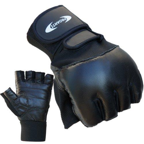 ATTONO Trainingshandschuhe mit Bandage Boxhandschuhe Fitness Handschuhe - Größe XL