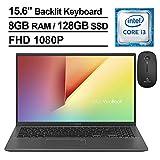 2020 ASUS VivoBook 15 15.6 Inch FHD 1080P Laptop, Intel Core i3-8145U...