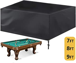 7/8/9 ft Billiard Pool Table Covers with Drawstring