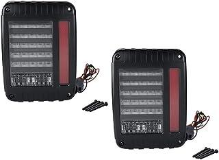 FAVOMOTO Luzes da Cauda Compatível Com Jeep Wrangler Modificados Taillight 1 Par