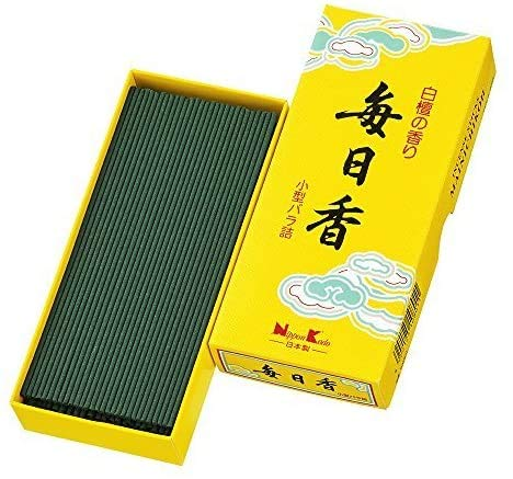 mainichi japanische Räucherstäbchen KOH Duft: Sandelholz 70g Klein