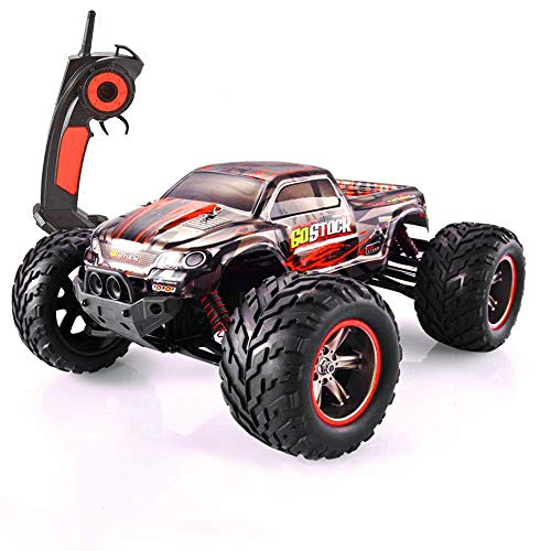 GoStock Remote Control Car, RC Car 42km/h High Speed Off-Road Monster Truck Car 1:12 Fast Electric Racing Car 2.4Ghz Large RC Buggy Crawler Car Radio Controlled Car Vehicle Toy Gift for Kids & Adults