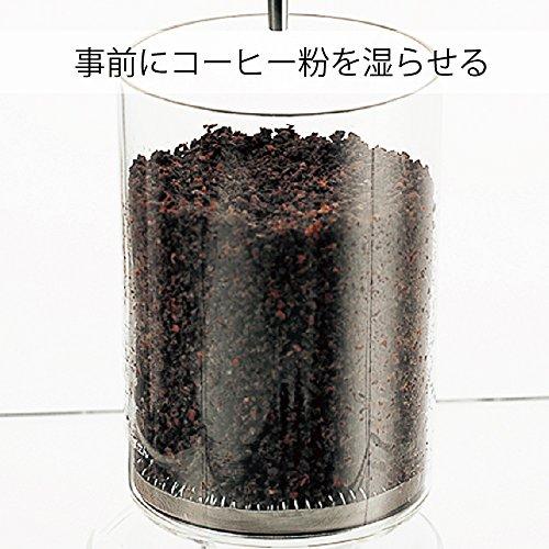 HARIO (ハリオ) ウォーターコーヒードリッパー・ウッド 水出しコーヒー 2~6杯用 WDW-6