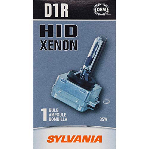 SYLVANIA - D1R Basic HID (High Intensity Discharge) Headlight Bulb - High Performance Bright, White, and Durable Lamp (Contains 1 Bulb), D1R.BX