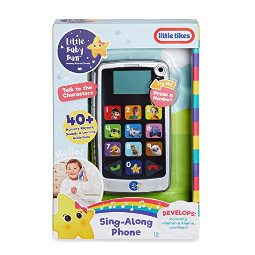 Little Baby Bum Sing-Along Smart Phone Learning Toy w/ Lights and Music